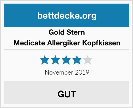 Gold Stern Medicate Allergiker Kopfkissen Test