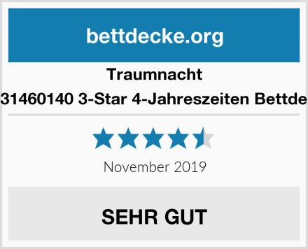 Traumnacht 03831460140 3-Star 4-Jahreszeiten Bettdecke Test