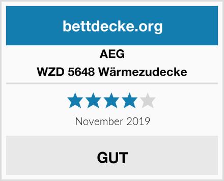 AEG WZD 5648 Wärmezudecke Test