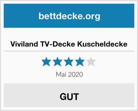 Viviland TV-Decke Kuscheldecke Test