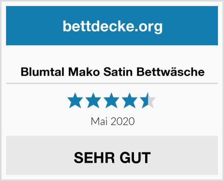 Blumtal Mako Satin Bettwäsche Test