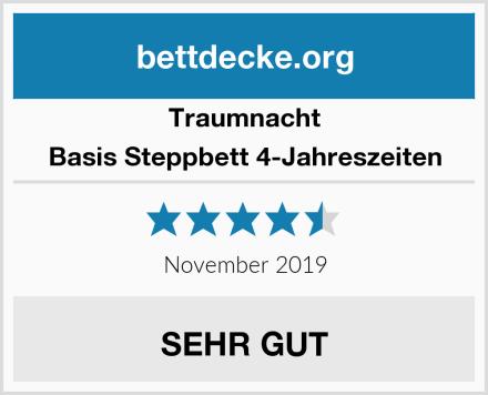 Traumnacht Basis Steppbett 4-Jahreszeiten Test