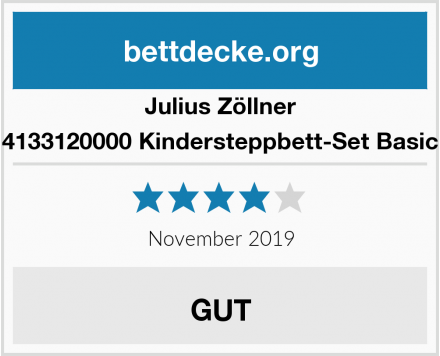 Julius Zöllner 4133120000 Kindersteppbett-Set Basic Test