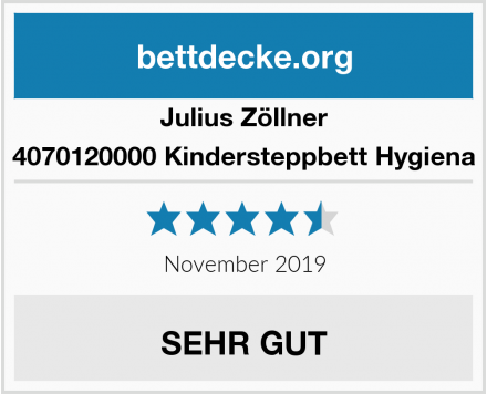 Julius Zöllner 4070120000 Kindersteppbett Hygiena Test