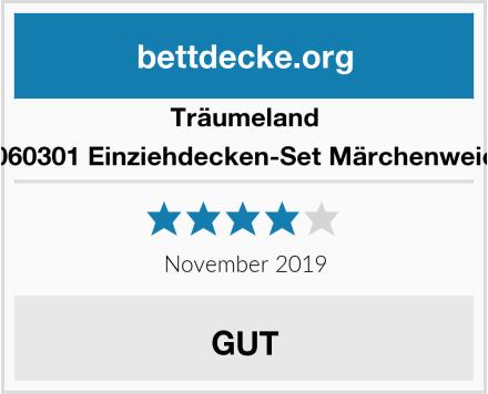 Träumeland T060301 Einziehdecken-Set Märchenweich Test