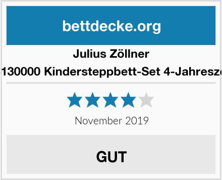 Julius Zöllner 4123130000 Kindersteppbett-Set 4-Jahreszeiten Test