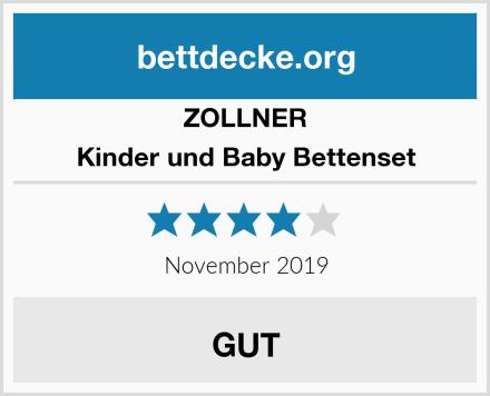 ZOLLNER Kinder und Baby Bettenset Test