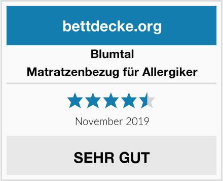 Blumtal Matratzenbezug für Allergiker Test