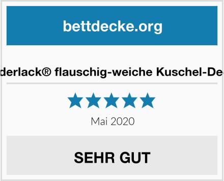 biederlack® flauschig-weiche Kuschel-Decke Test
