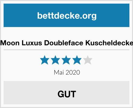 Moon Luxus Doubleface Kuscheldecke Test