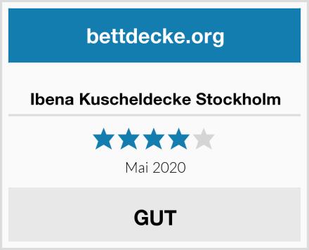 Ibena Kuscheldecke Stockholm Test
