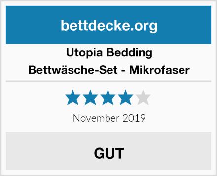 Utopia Bedding Bettwäsche-Set - Mikrofaser Test