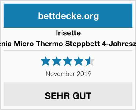 Irisette Badenia Micro Thermo Steppbett 4-Jahreszeiten Test