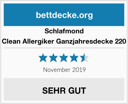 Schlafmond Medicus Clean Allergiker Ganzjahresdecke 220 x 240 cm Test
