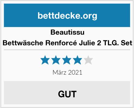 Beautissu Bettwäsche Renforcé Julie 2 TLG. Set Test