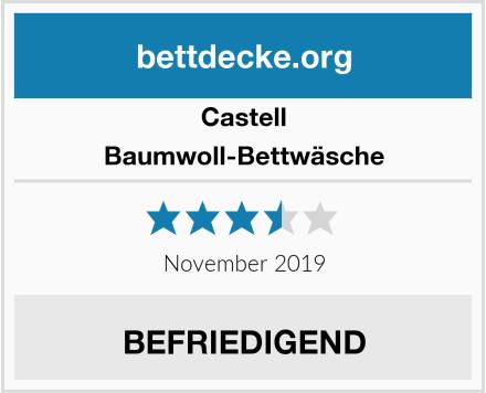 Castell Baumwoll-Bettwäsche Test