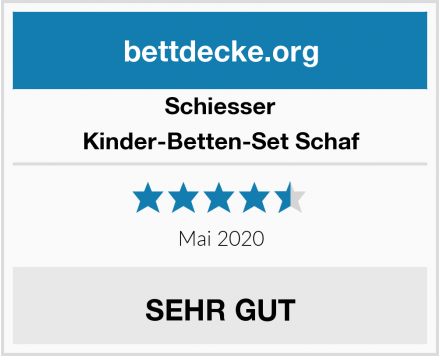 Schiesser Kinder-Betten-Set Schaf Test