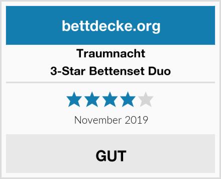 Traumnacht 3-Star Bettenset Duo Test