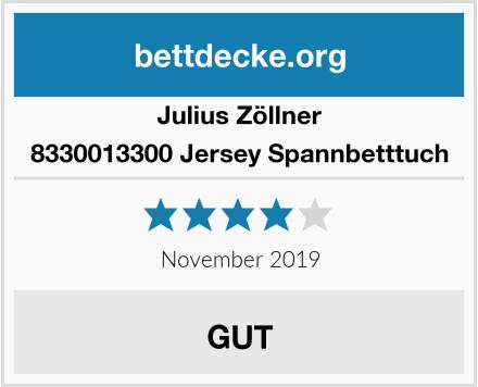 Julius Zöllner 8330013300 Jersey Spannbetttuch Test