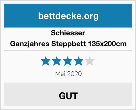 Schiesser Ganzjahres Steppbett 135x200cm Test