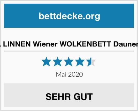 VOYAL LINNEN Wiener WOLKENBETT Daunendecke Test
