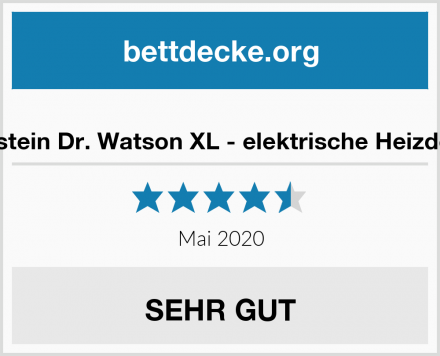 Klarstein Dr. Watson XL - elektrische Heizdecke Test