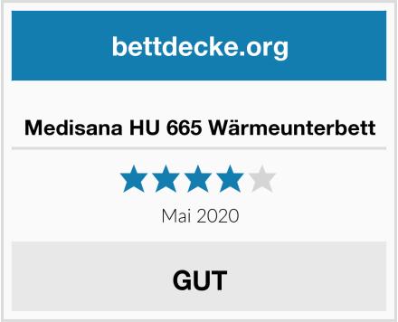 Medisana HU 665 Wärmeunterbett Test