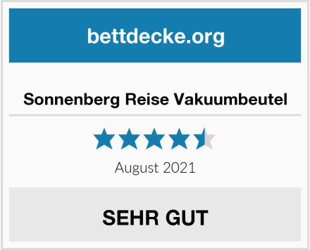 Sonnenberg Reise Vakuumbeutel Test