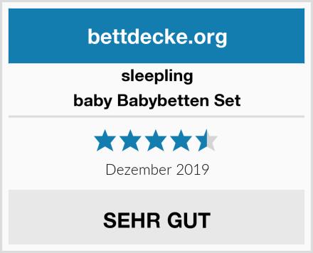 sleepling baby Babybetten Set Test