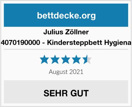 Julius Zöllner 4070190000 - Kindersteppbett Hygiena Test