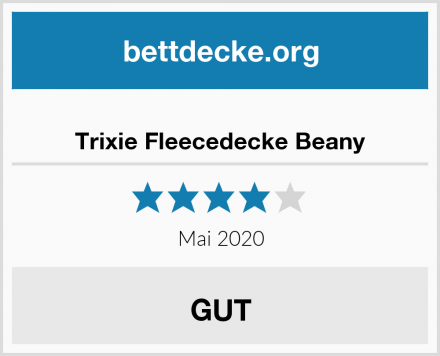 Trixie Fleecedecke Beany Test