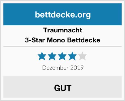 Traumnacht 3-Star Mono Bettdecke Test