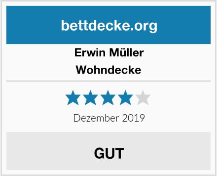 Erwin Müller Wohndecke Test
