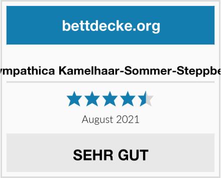 Sympathica Kamelhaar-Sommer-Steppbett Test