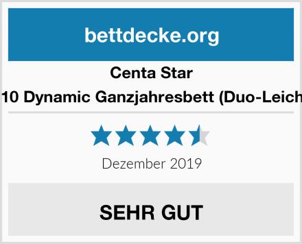 Centa Star 0124.10 Dynamic Ganzjahresbett (Duo-Leichtbett Test