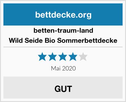 betten-traum-land Wild Seide Bio Sommerbettdecke Test