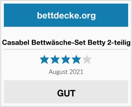 Casabel Bettwäsche-Set Betty 2-teilig Test