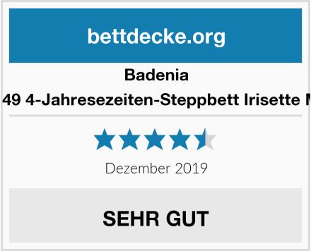 Badenia 03 649 770 149 4-Jahresezeiten-Steppbett Irisette Merino wash Test