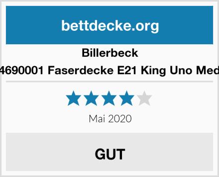 Billerbeck 5104690001 Faserdecke E21 King Uno Medium Test