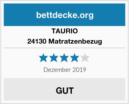 TAURIO 24130 Matratzenbezug Test