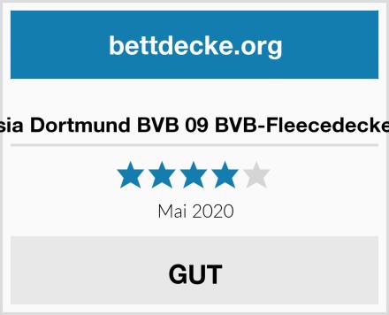 Borussia Dortmund BVB 09 BVB-Fleecedecke (grau) Test