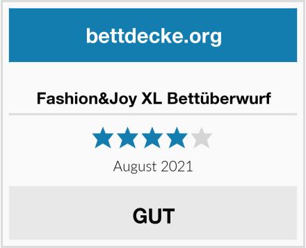 Fashion&Joy XL Bettüberwurf Test