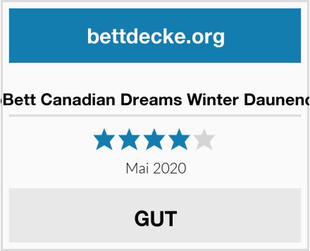 VitaloBett Canadian Dreams Winter Daunendecke Test