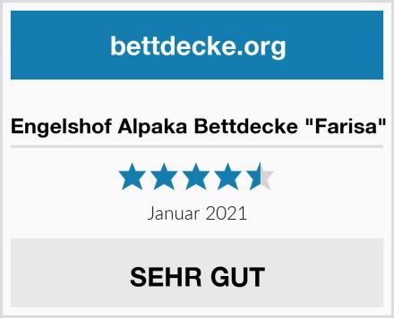 "Engelshof Alpaka Bettdecke ""Farisa"" Test"