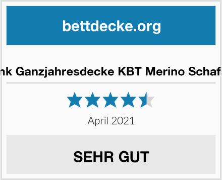 Moebelfrank Ganzjahresdecke KBT Merino Schafschurwolle Test