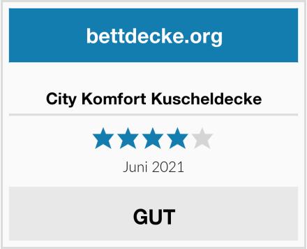 City Komfort Kuscheldecke Test