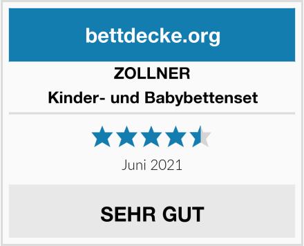 ZOLLNER Kinder- und Babybettenset Test