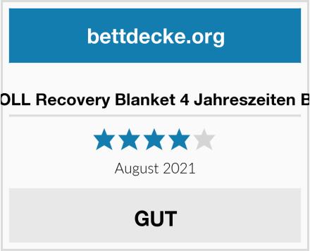 BLACKROLL Recovery Blanket 4 Jahreszeiten Bettdecke Test