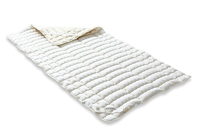 Badenia 03883291000 Bettcomfort Spannauflage Merino Perkal,