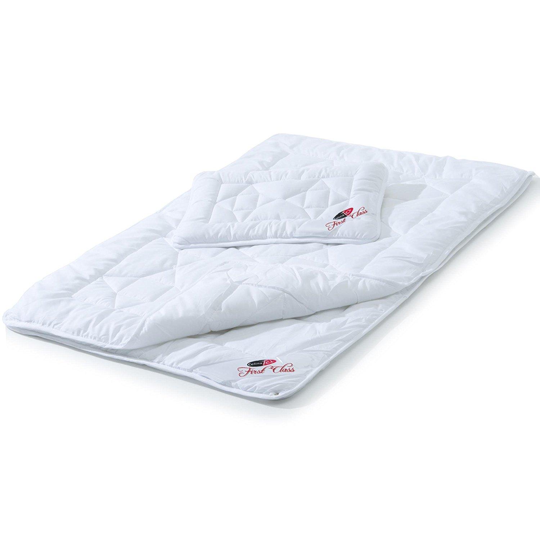 Kinder Bettdecke 100 x 135 Betten Set Decke Kissen Steppbett Kopfkissen Babyset